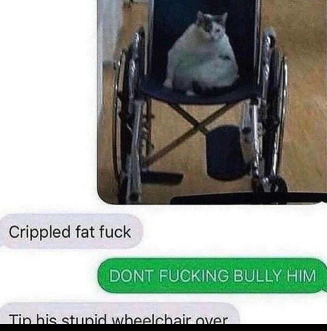 Fat fuck - meme