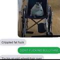 Fat fuck