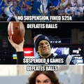 deflated balls?!?!?