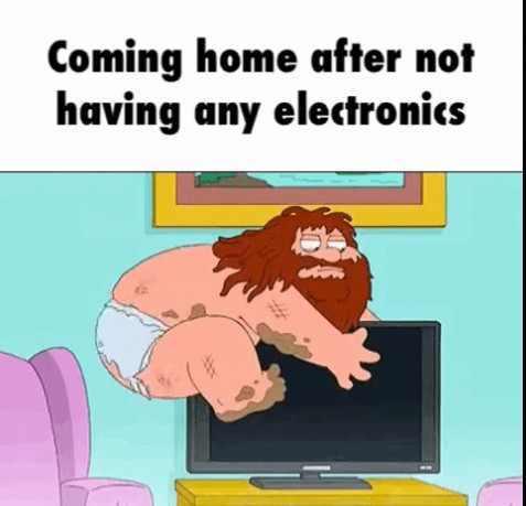 Cuddling my WiFi - meme