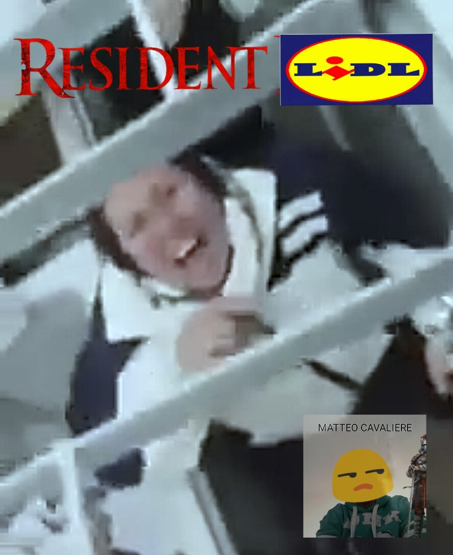 Resident Lidl: L'angolo rotture - meme