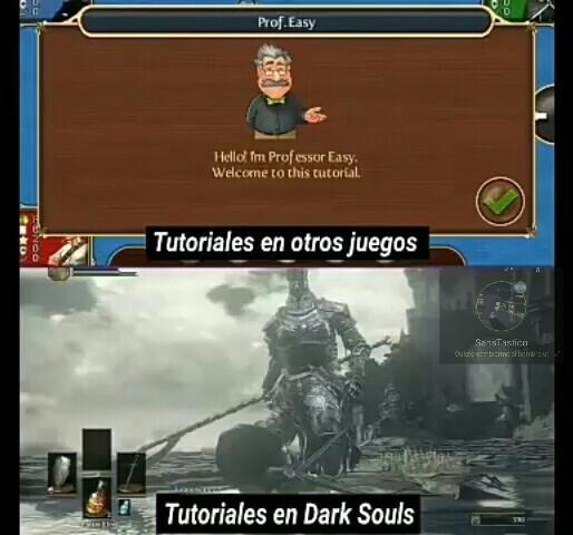 Dark soul y mis 53 muertes al principio - meme
