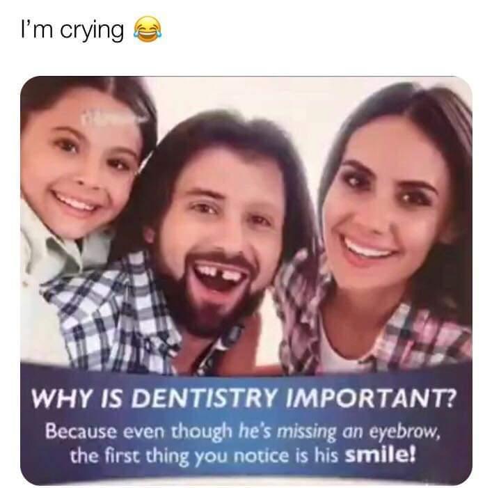 Hes got a cute smile tho - meme