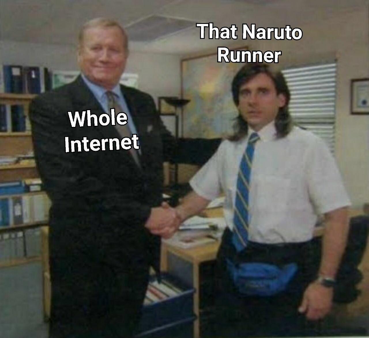 He deserves it - meme