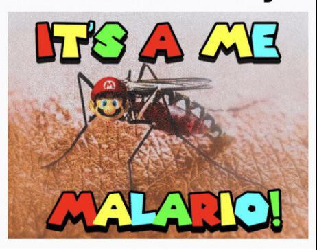 It's a me a malario - meme