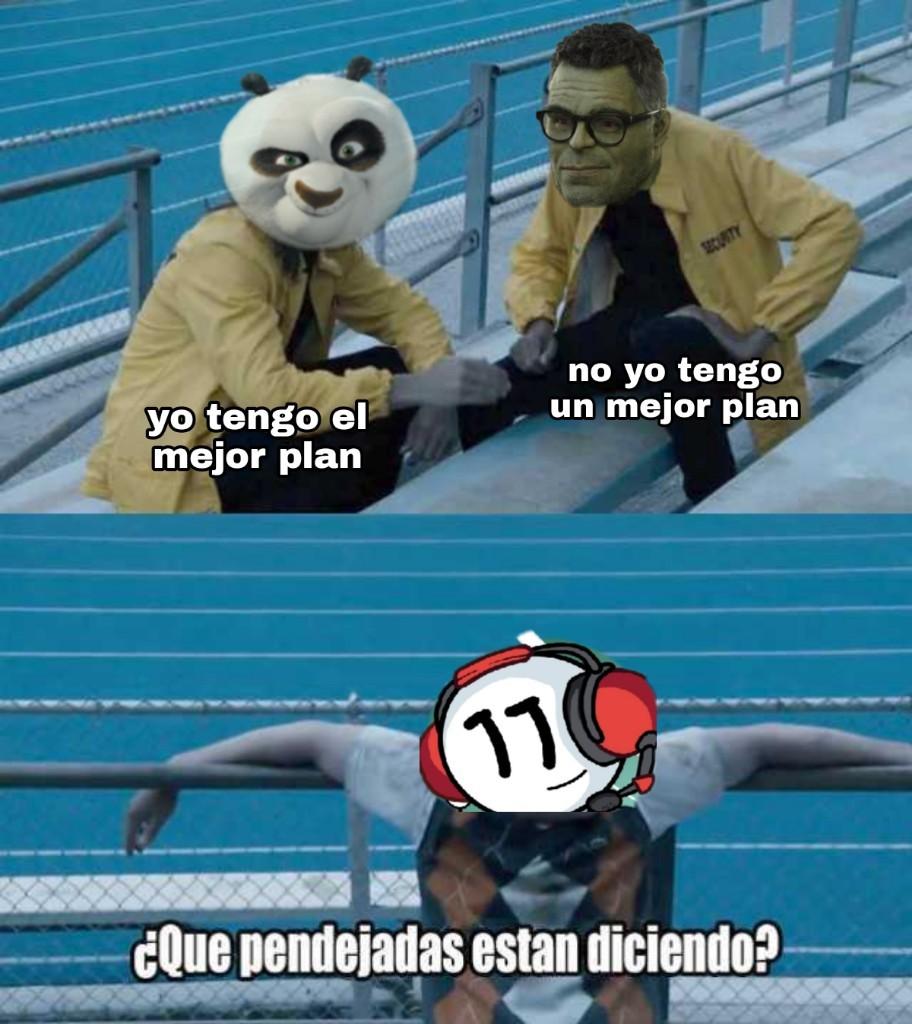 El plan de kung fu panda 3 para el que no entendio - meme