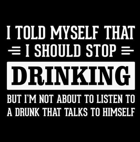 I drink alone - meme