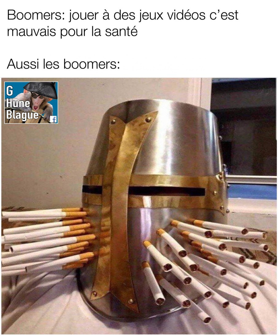Knight dad pour les sourceux - meme