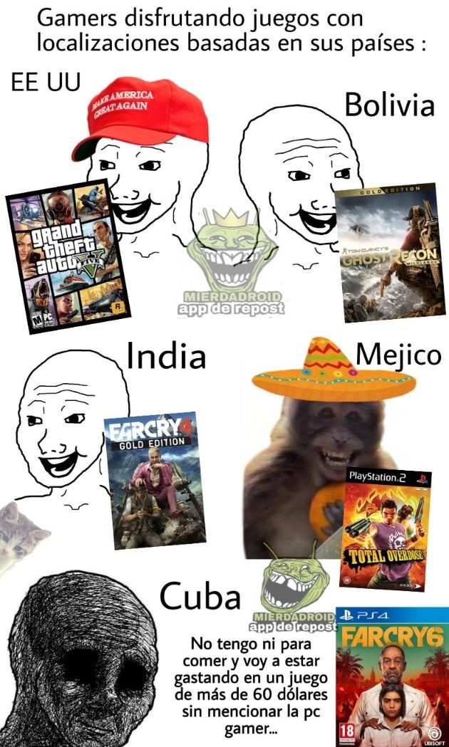 Nuevo far cry... - meme