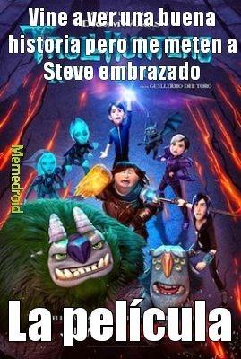 PTM Guillermo del Toro, me arruinaste los ojos con Steve - meme