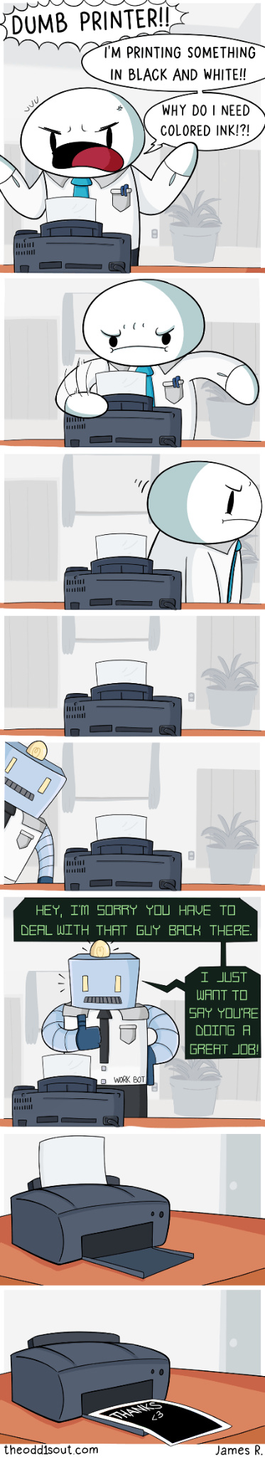 What printer has given you the most grief? - meme