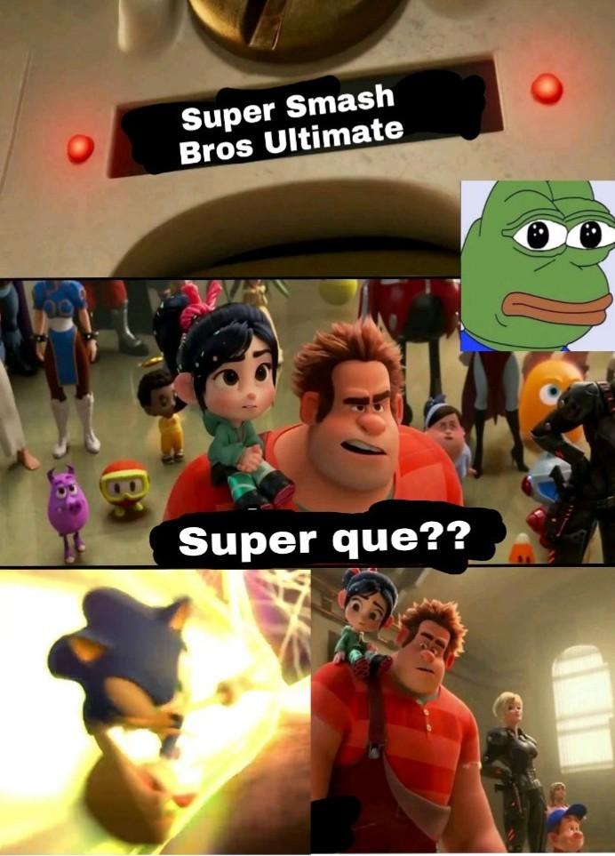 El titulo se lo llevó Kirby - meme