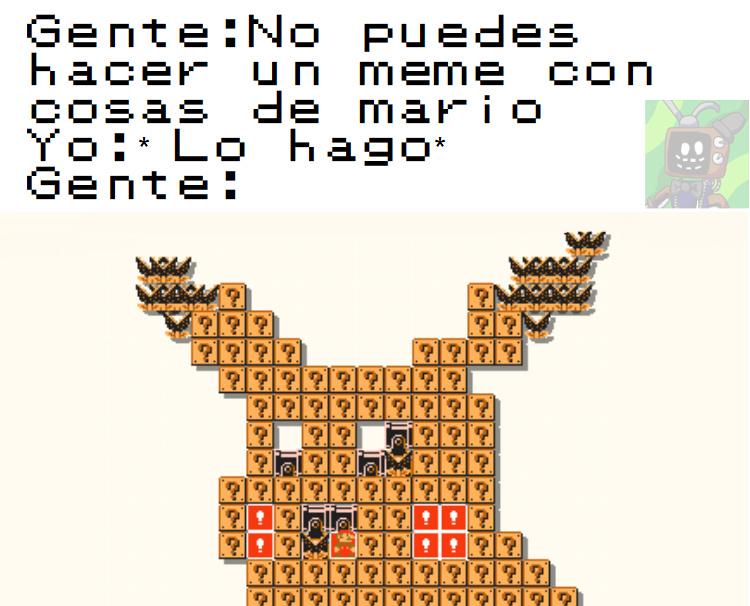 El juego es Mario Multiverse - meme