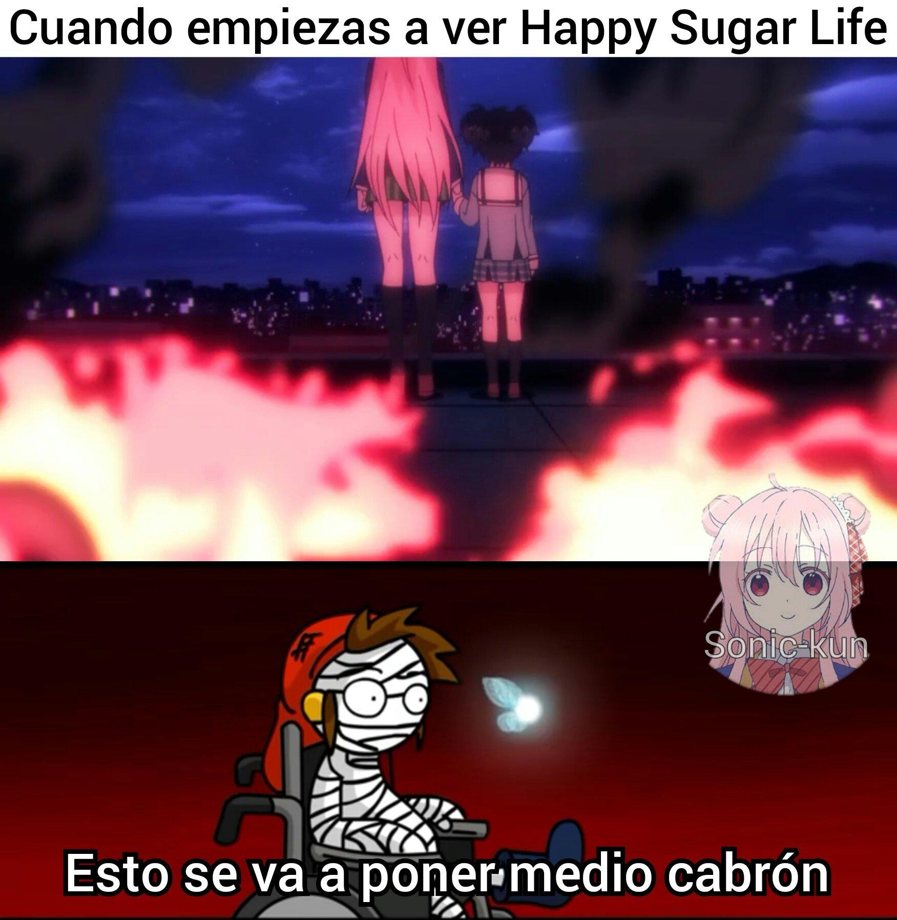 7ma Vida: De Lo Que Está Hecha La Chica De Azúcar - meme