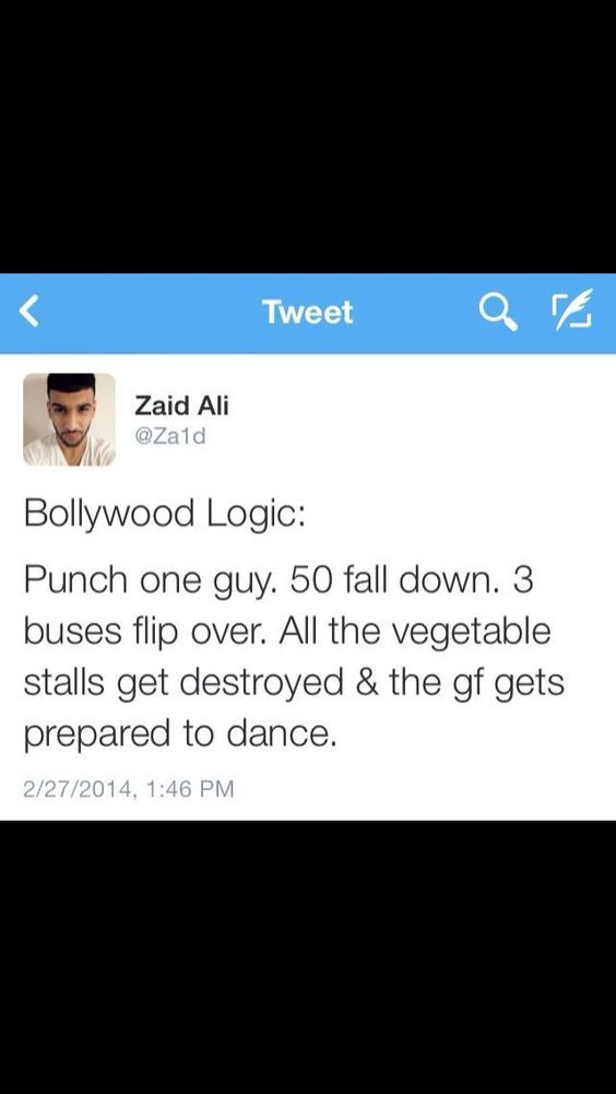 Bollywood logic - meme