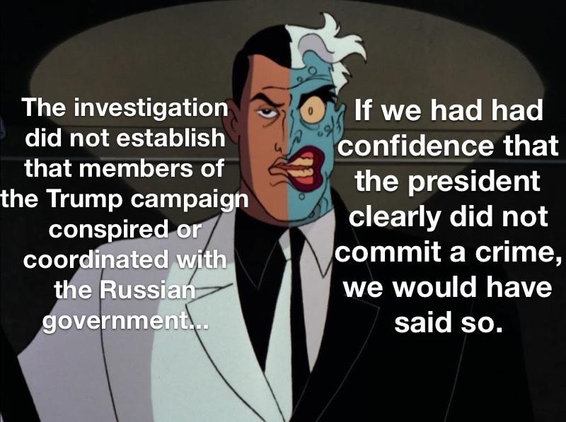 Ladies and Gentlemen, Mr. Robert Mueller - meme