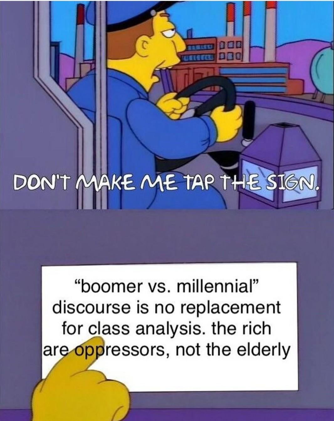 Ok rich boomer - meme