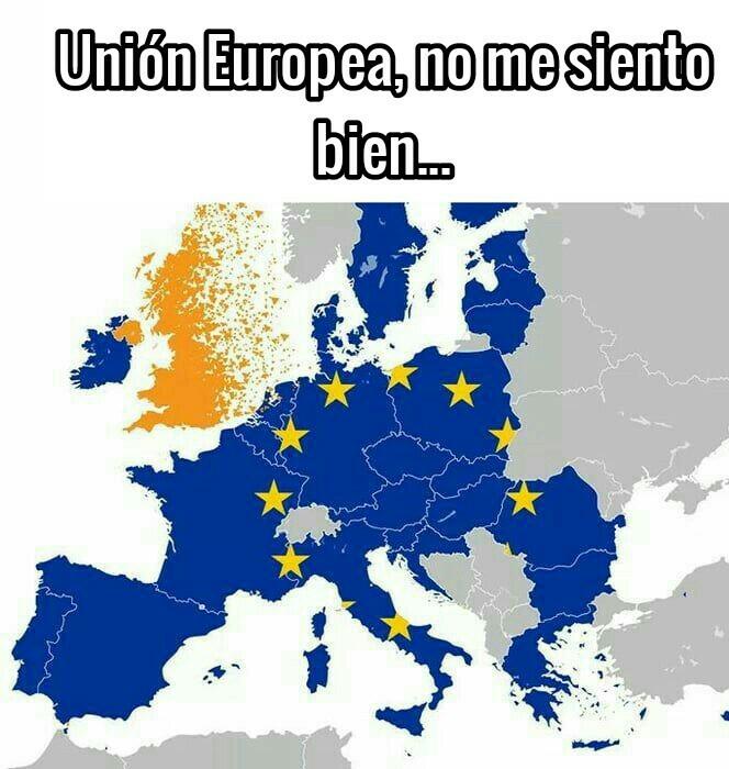 Si expulsaran a España de la Unión se les acabaría la guachafita progre - meme