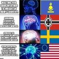 big brain till the army died