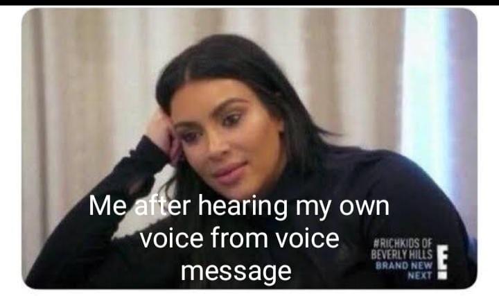 Voice - meme
