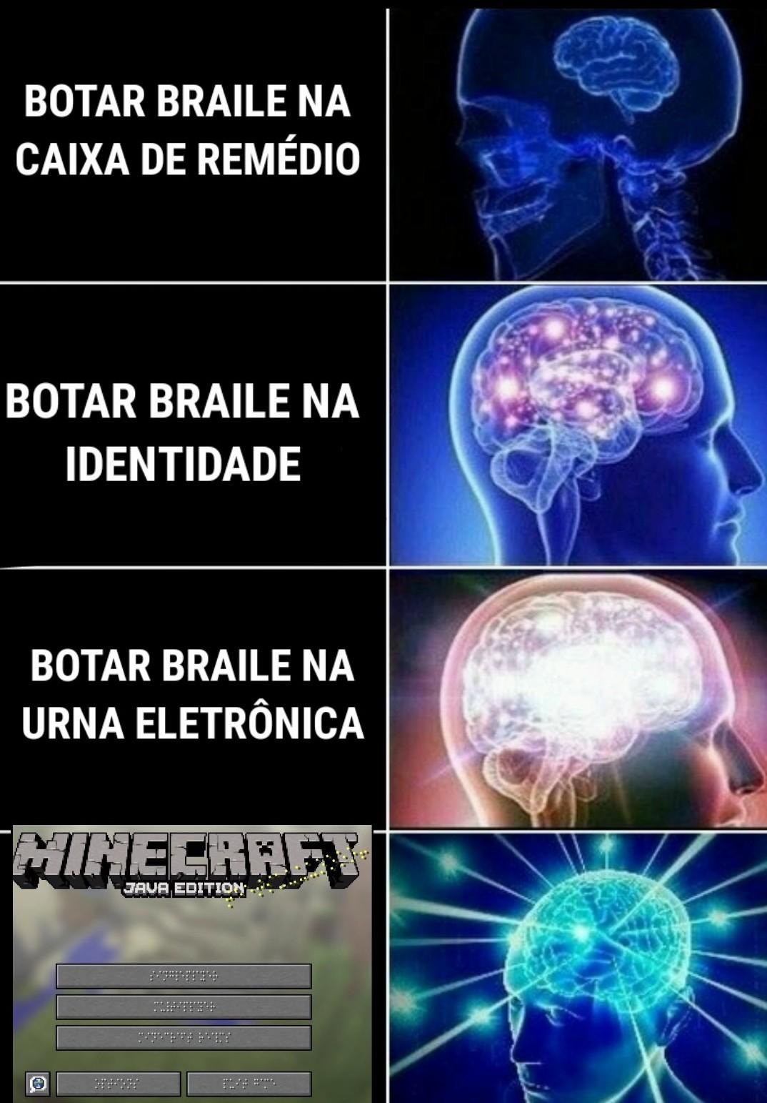 Acessibilidade - meme