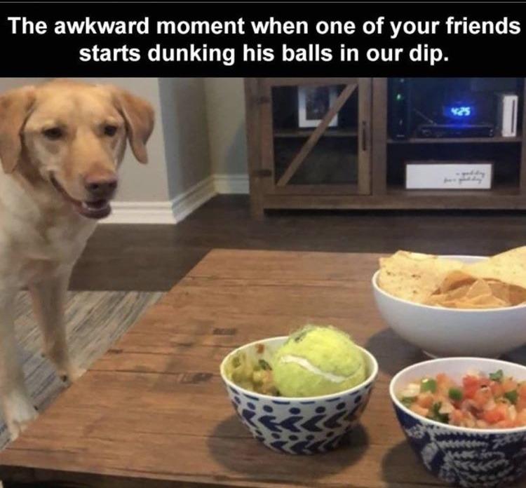 my guacamole got balled - meme