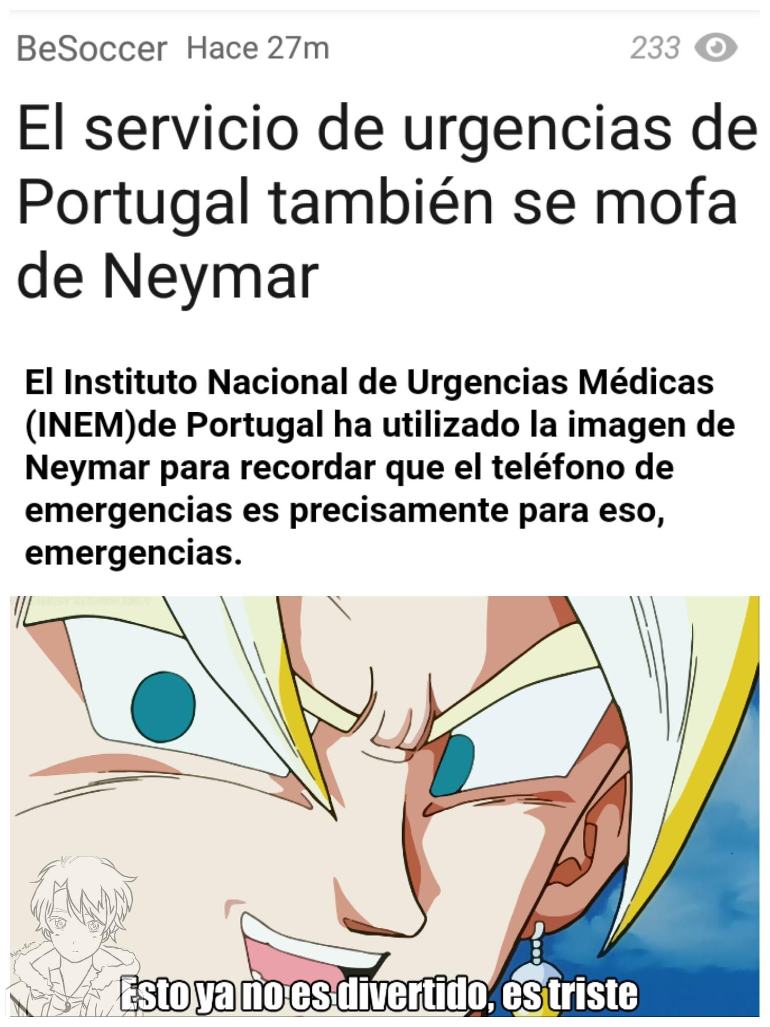 Otra vez Neymar en las noticias... - meme