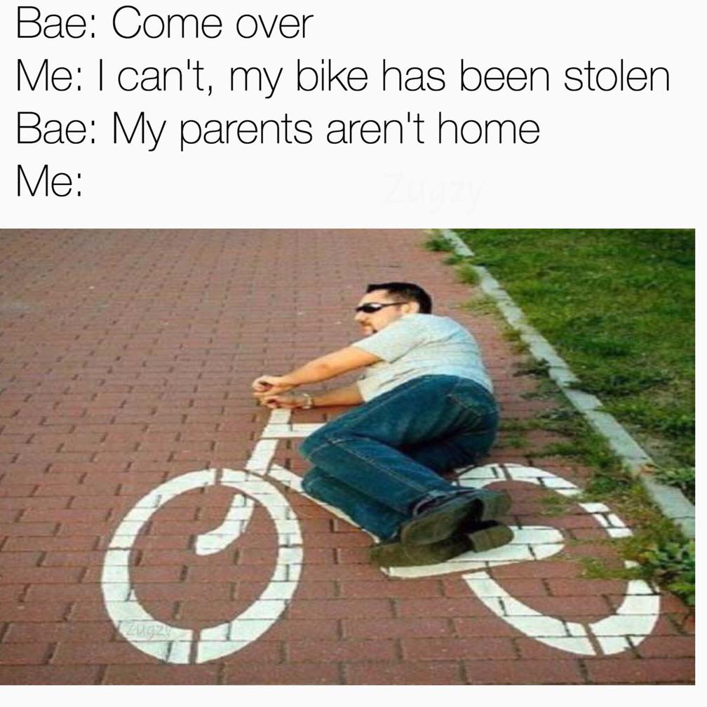 Bike - meme