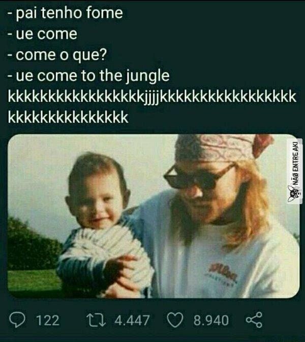 ue come kkkkk - meme