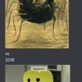 1881 vs 2018 (desposeto is being said by the oof monster)