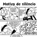Motivo de silêncio