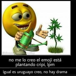 El emoji uruguayo - meme