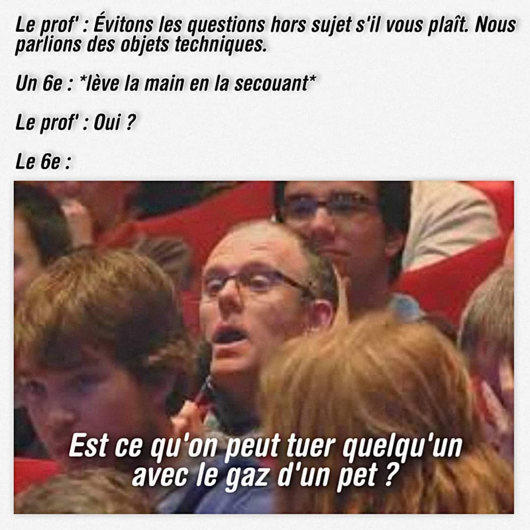 Bonne question - meme