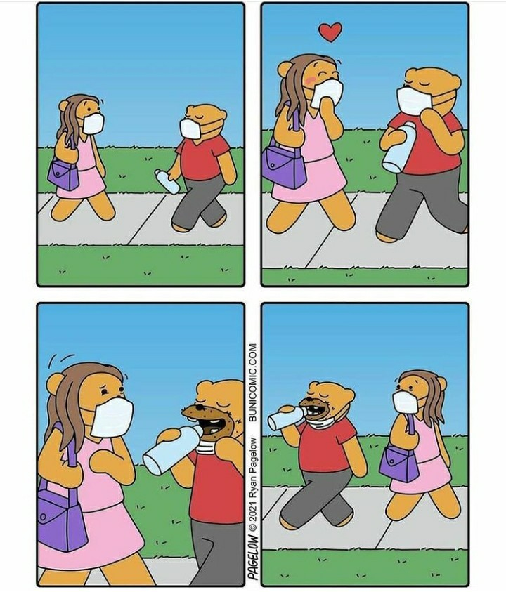 Usar a máscara salva! - meme
