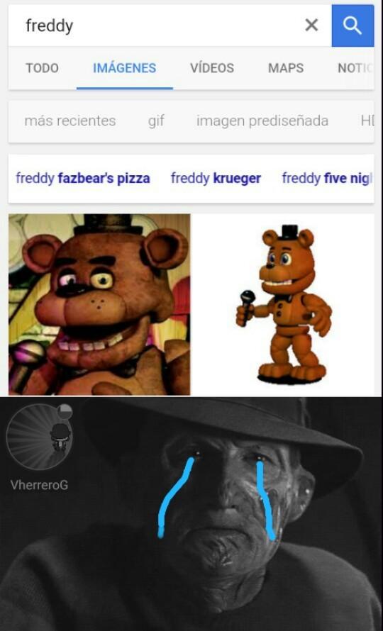 Freddy no lo merece - meme