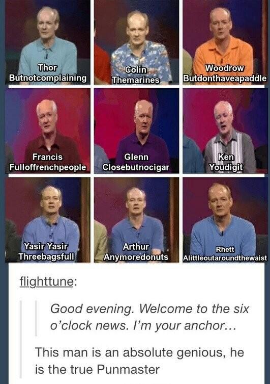 Oh that Colin! *epic sax solo* - meme