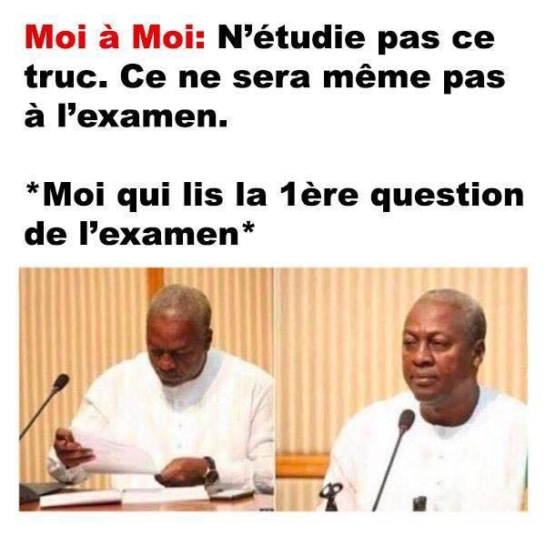 Exam - meme