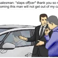 car salesman salesman car
