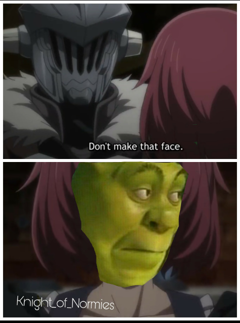 Shronk slayer - meme