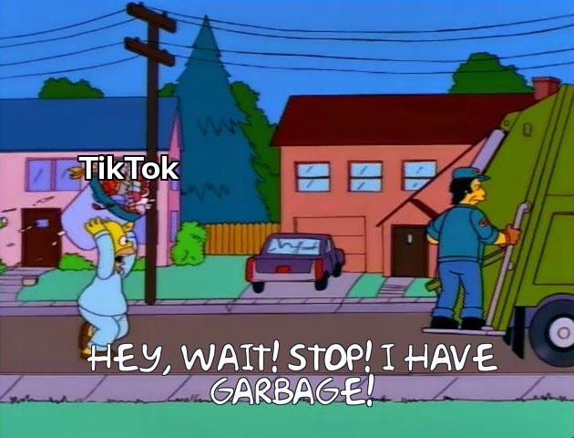 I hate Tiktok - meme