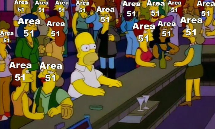 Srsly enough with this Area 51 crap - meme