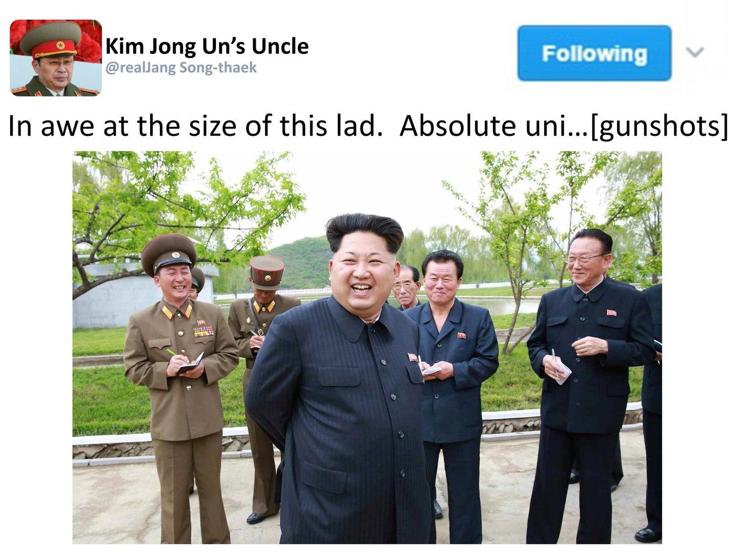 Absolute Unit Kim Jong-un - meme