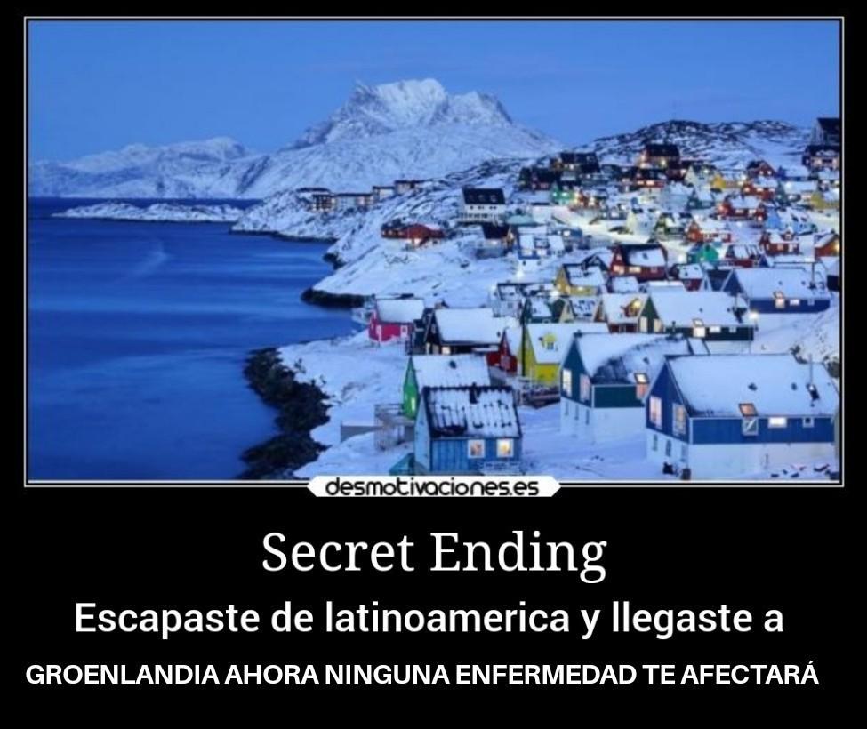 Final secreto - meme