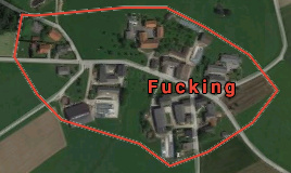 So it turns out that there is a place in Austria called this, i'm not joking, look it up - meme