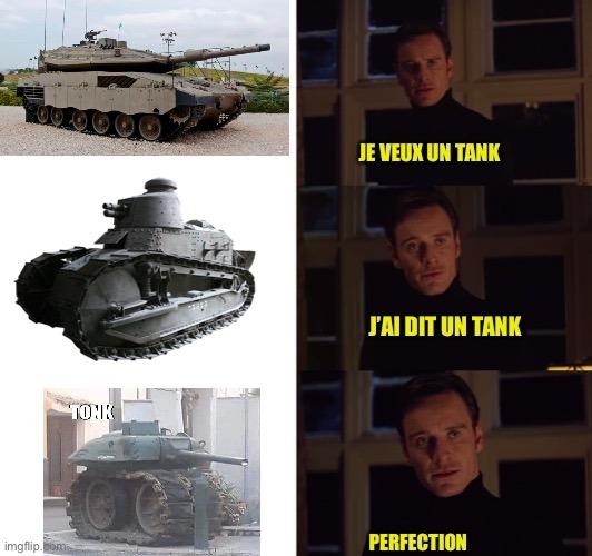Tonk - meme