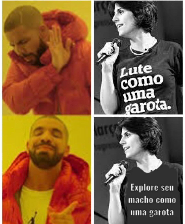 Socialista mercenária - meme