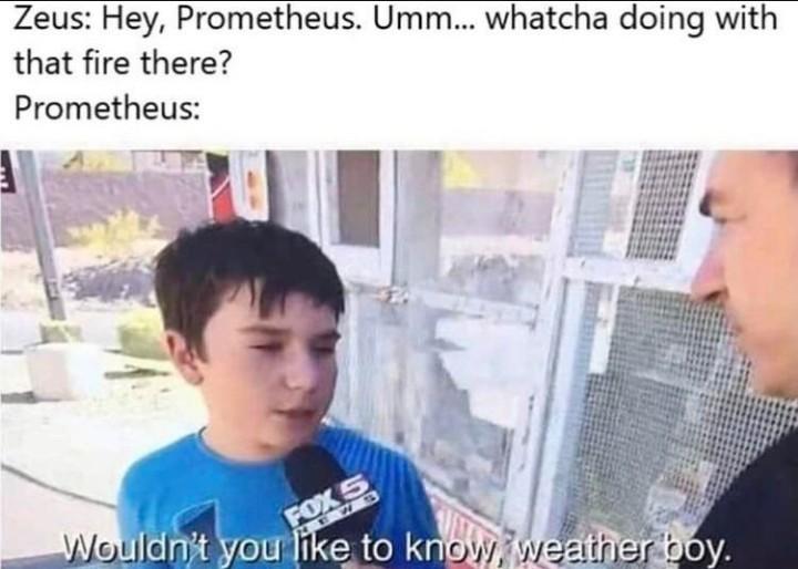 Zeus = chad - meme