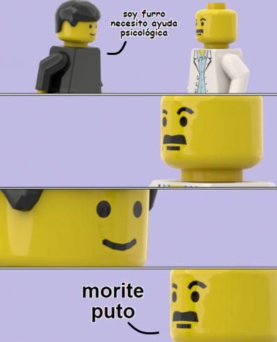 El doctor Lego odia a los furros se me creo un ídolo - meme
