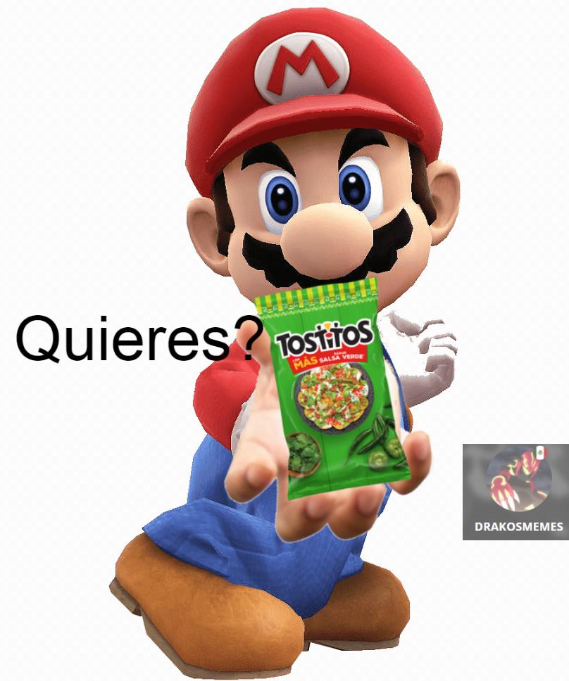 quieres tostitos?????? - meme