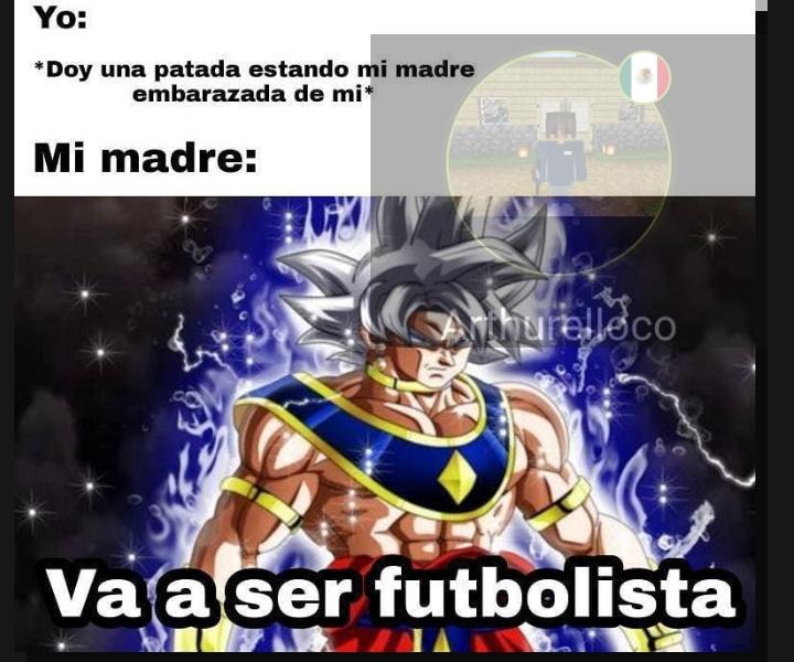 El título es futbolista :0 - meme